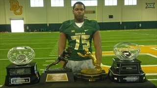BREAKING: Offensive lineman Ylijah Hall has decided to leave Baylor