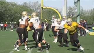 35 Minutes of Baylor Football Spring Practice Highlights
