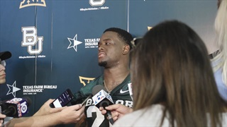WATCH: Senior safety Taion Sells discusses first practice