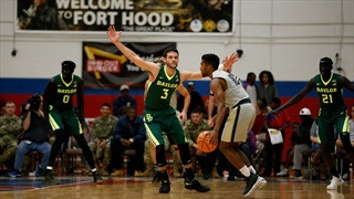 Baylor cruises through annual Fort Hood game 105-82