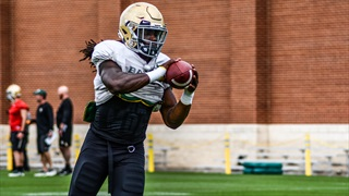 Rhule: Running back room 'has a couple of difference makers'