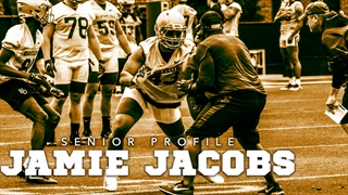 Senior Profile: Change could prove to be beneficial for Jamie Jacobs