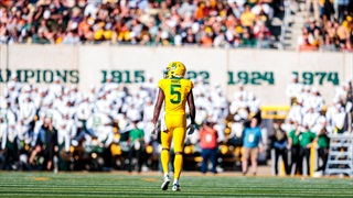 Denzel Mims selected by the New York Jets in the 2020 NFL Draft