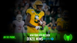 Denzel Mims explains emotions of being selected by the Jets in the second round