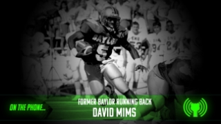 Former Baylor RB David Mims discusses connection to Denzel, top performances of his career