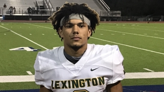 Lexington (TX) four-star ATH Jarred Kerr discusses playoff win and top schools