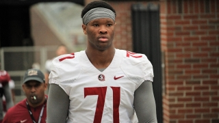 Recruiting Notes: The staff evaluates new offensive tackle transfer