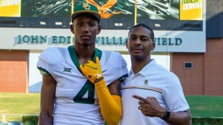 Caleb Douglas gives Baylor a big wide receiver with speed in the 2022 class