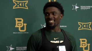 Bohanon, Shapen and Zeno meet with media after Baylor's second fall practice