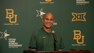 Aranda, Doyle and Smith meet with media after Baylor's scrimmage