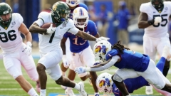 Baylor glides through Big 12 opener with 45-7 win over Kansas