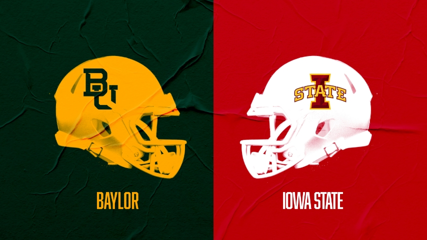 Gameday Thread: Baylor (3-0) faces #14 Iowa State (2-1) in Big 12 home opener